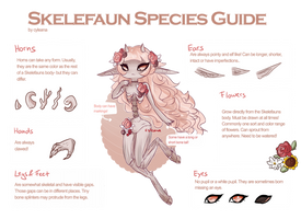 Skelefaun [Closed Species Guide] UPDATE 07.02.18 by Cyleana