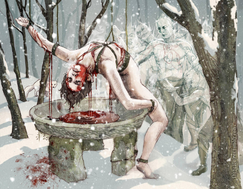 January - Bloody Will Graham fanart calendar by theseavoices