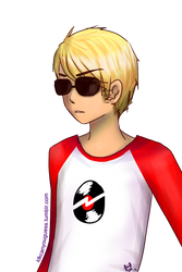 homestuck: Dave Strider by fistania