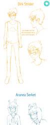 HSAP Character Stylization 2 by fistania