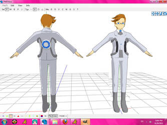 OLD MMD Newcomer Human Wheatley by Angellbaby