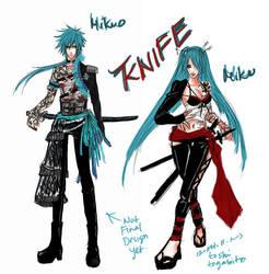 Mikuo Knife by phantomofdevil