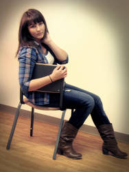 Megan Photoshoot 1 by TheLyssa
