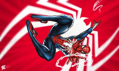Spider-Man PS4 by gscratcher