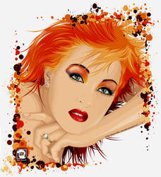 Cyndi Lauper - True Colors by alpio