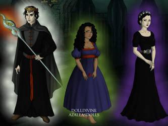 Powers Of The Underworld by Nelyasun