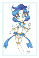 Miracle Sailor Mercury by PinkPigtails