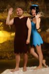 Flintstones. Betty and Barney by MurzikYuki