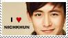 2PM nichkhun stamp by wonderpaper