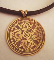Hall of Kings pendant by rivenwanderer