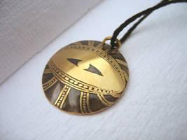Riven eyeball pendants! by rivenwanderer