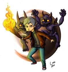 Garoto com Demonios by Leosanro
