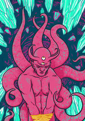 Demonio Aprisionado by Leosanro