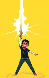 The Thunder Sword by Leosanro