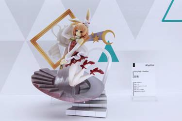 white rabbit by yukintoshimi