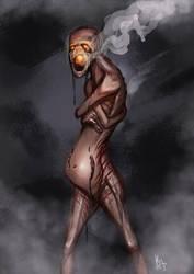 Behind the mask by KieranMorris