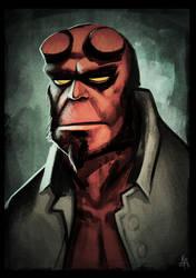 Hellboy by KieranMorris