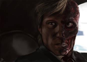 Two Face study by KieranMorris