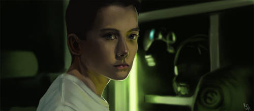 Ender's Game study by KieranMorris