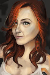 Random redhead speedpaint by KieranMorris