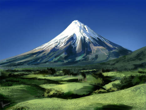 Mountain study by KieranMorris