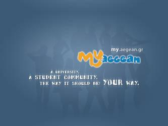 2011 gradient - MyAegean Wallpaper 2 by MyAegean