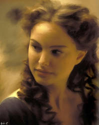 Natalie Portman in CG by talamasca