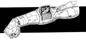 Watchman cyberarm by Grebo-Guru