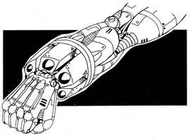 Russian rocket-launching cyberarm by Grebo-Guru