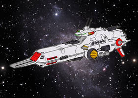 SCV-470 Broadsword class assault carrier (colored) by Grebo-Guru