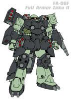 FA-06F Full Armor Zaku II by Grebo-Guru
