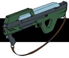 Militech M31A1 Advanced Infantry Combat Weapon by Grebo-Guru