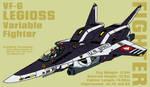 VF-6 Legioss - fighter by Grebo-Guru
