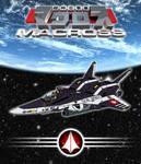 VF-6 Legioss - poster by Grebo-Guru