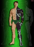 Raven Microcyb GEMINI Humanoid Full Conversion by Grebo-Guru