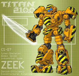 ZEEK with fusion cutter (for T.I.T.A.N. 2100) by Grebo-Guru