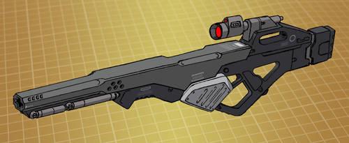 Mecha sniper rifle (for T.I.T.A.N. 2100) by Grebo-Guru