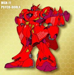 MSN-11 Psyco-Dorla by Grebo-Guru