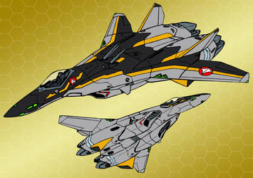 VF-5000S Star Mirage - Lanternjacks (Fighter mode) by Grebo-Guru