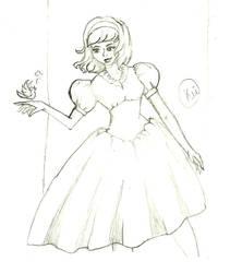 Snow White - Sketch by Kei-3173