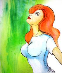 Red Hair by Kei-3173