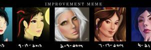 Improvement meme by meiyue