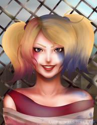 Harley Quinn by earheartworks