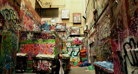 graffiti street by vincenzzo