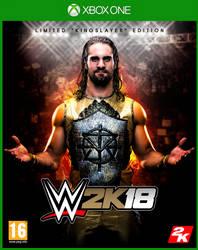 WWE 2K18 XBOX ONE cover by LukkasBlack