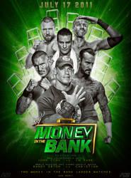 Money in the Bank 2011 Custom Poster by LukkasBlack