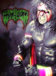 Ultimate Warrior poster by LukkasBlack