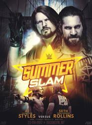 SummerSlam poster by LukkasBlack