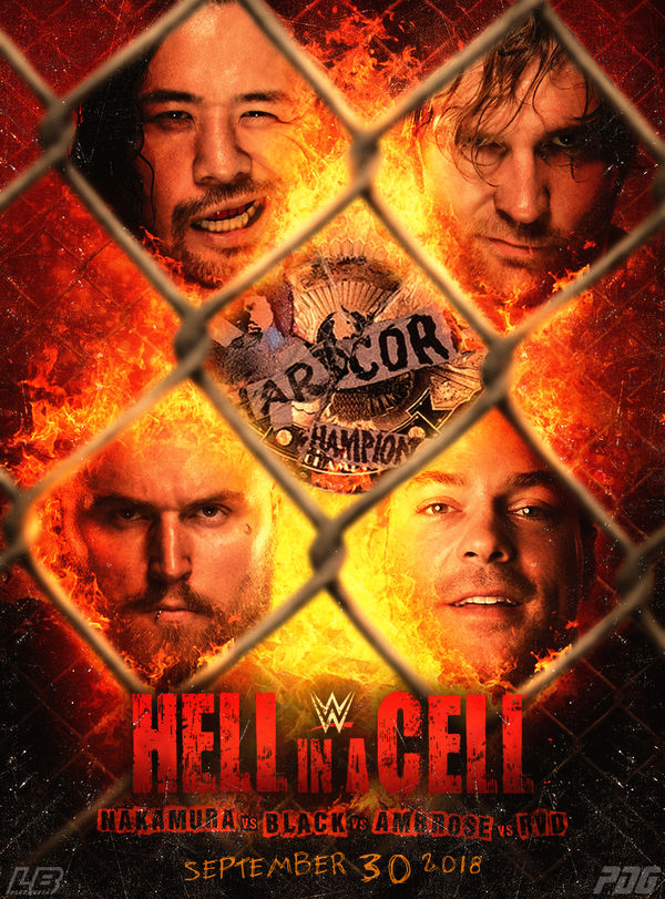 WWE Hell in a Cell 2018 by LukkasBlack