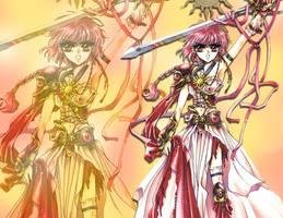 magic knight rayearth - hikaru by darkxravenxx
